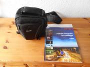 Fototasche mit Buch