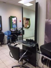 Friseurbedienungsplätze
