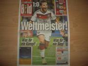 Fußball WM 2014 Original Bildzeitung