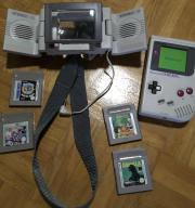 Gameboy + 4 Spiele + Lupe,Licht,Lautsprecher Pack, gebraucht gebraucht kaufen  Hannover Ahlem