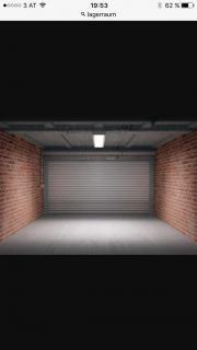 Garage bzw. Lagerraum