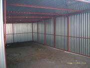 Garage Metall verzinkt