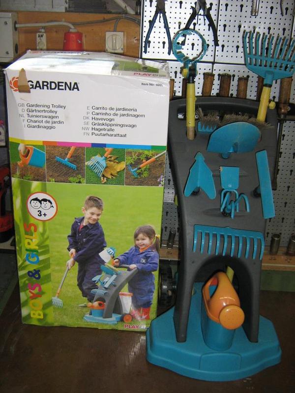 gardena garten trolley