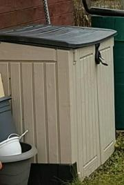 Gartenbox Mülltonnenbox Gerätebox