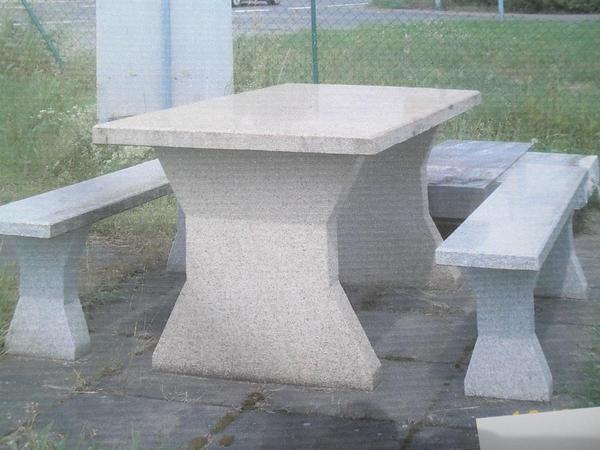 Gartenmobel Aus Granit ~ Gartengarnitur aus granit in mandelbachtal gartenmöbel