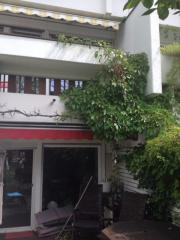 Gartenmaisonette Wohnung möbiliert