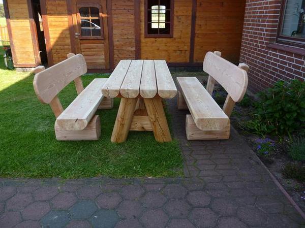 Gartenmöbel aus lärchenholz  Gartenmöbel aus Lärche. in Steyerberg - kaufen und verkaufen über ...