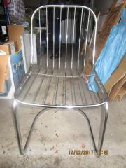 Gartenstühle, Metallstühle