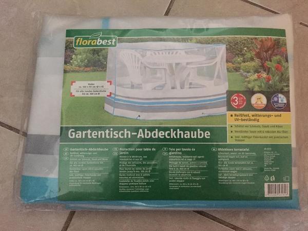 Gartentisch Abdeckhaube 160x90cm Bank Stuhle Garten Haus