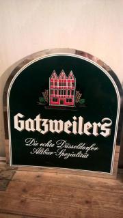 Gatzweiler Bier Schild Brauerei Werbung