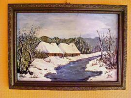 Kunst, Gemälde, Plastik - GEMÄLDE rus Herkunft über 41-