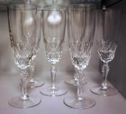 Geschliffenes Kristallglas: 6