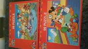Große Puzzle Micky Maus Donald