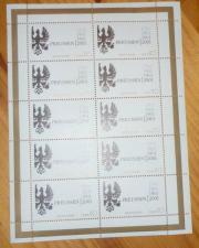 gültige Briefmarken, selbstklebend,