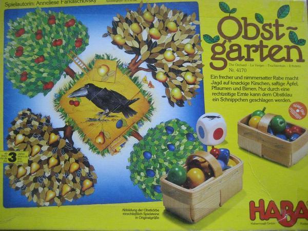 HABA Obstgarten Spiel ab 3