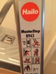Hailo Master Step Aluleiter klappbar