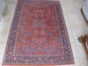 handgeknüpfter indischer Teppich /