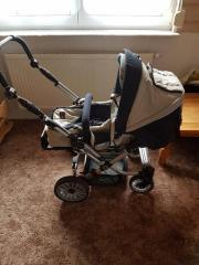 Hartan Kinderwagen (Buggy) Topline S Universaladapter für Babyschalen Softtragetasche,Sonnenschirm gebraucht kaufen  Wiesensteig