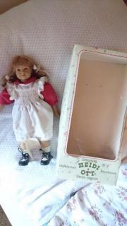 HEIDI OTT Puppen Mädchen Sammlerstück