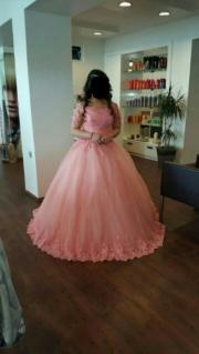 Hennakleid Brautkleid in rosa