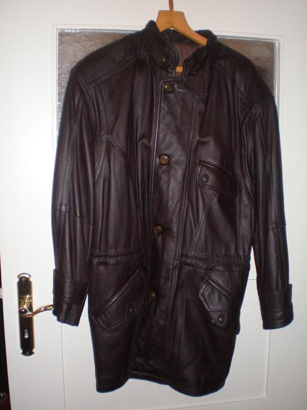 Herren Lederjacke, Gr. 50 in Berlin Leder Pelzbekleidung