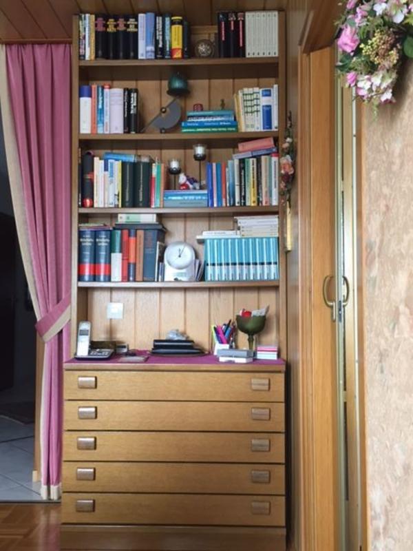bucherregal eiche massiv gebraucht kaufen nur 2 st bis. Black Bedroom Furniture Sets. Home Design Ideas