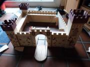 Holzburg für Hobbybastler
