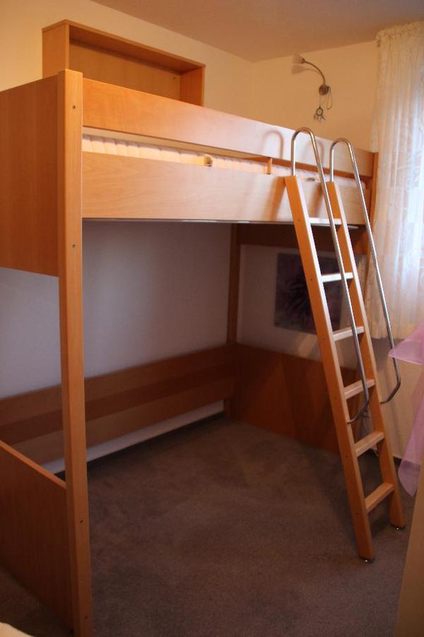 h lsta hochbett buche sehr stabil in dortmund betten. Black Bedroom Furniture Sets. Home Design Ideas