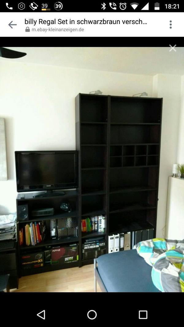 ikea mobel regale gebraucht kaufen nur 3 st bis 60. Black Bedroom Furniture Sets. Home Design Ideas