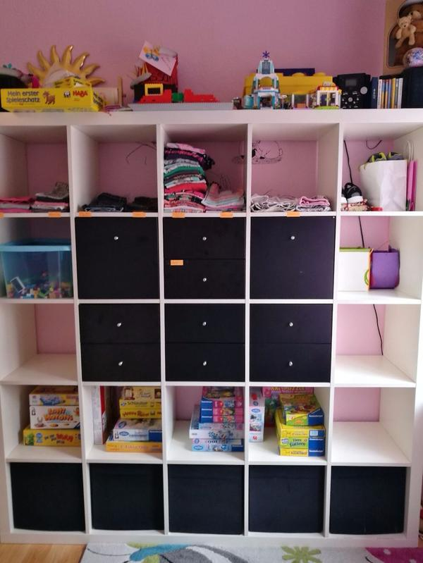 ikea expedit kallax 5 5 inkl schubladen in bad sch nborn ikea m bel kaufen und verkaufen. Black Bedroom Furniture Sets. Home Design Ideas