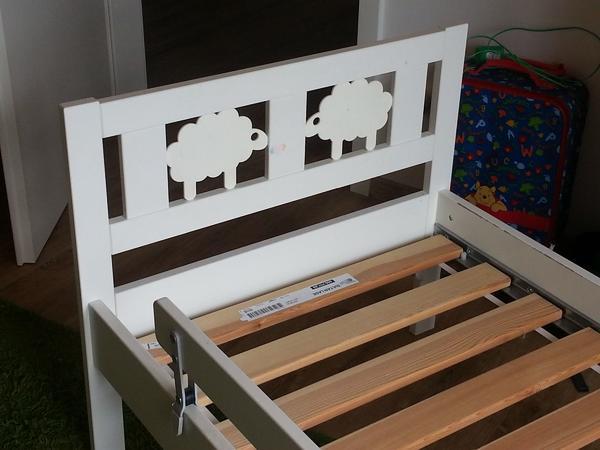Ikea Kritter Juniorbettgestell Inkl Lattenrost Und Stutzbrett In