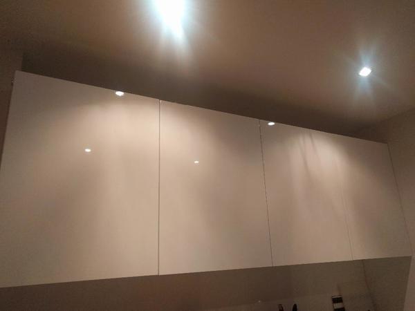 Ikea Metod Ringhult Küchenschrank hochglanz weiß in Ludwigshafen ... | {Kücheneckschrank ikea 30}