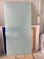 Ikea Schreibtisch Füße ikea schreibtisch galant glasplatte milchglas chrom beine in
