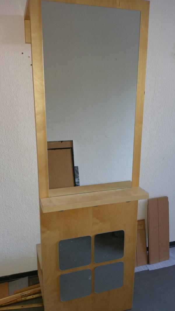 Großer Spiegel Ikea ikea stark garderobe spiegel birke in berlin garderobe flur