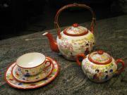 Japanisches Teeservice handbemalt