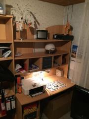Schreibtisch mit ueberbau haushalt m bel gebraucht for Jugendzimmer zu verschenken