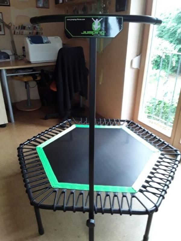 jumping fitness trampolin orginal in oberasbach fitness bodybuilding kaufen und verkaufen. Black Bedroom Furniture Sets. Home Design Ideas