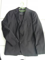 Jungen Anzug schwarz