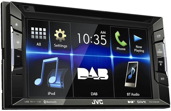JVC KW-V235DBT DAB+ / DVD-/CD-/USB-Receiver NP 300EUR - Wasungen Bonndorf - JVC KW-V235DBT DAB+ / DVD-/CD-/USB-Receiver mit integrierter Bluetooth-Technologie und 15,7 cm (6,2 Zoll) Touch-Panel mit VGA-Auflösung schwarz 15,7 cm WVGA Touchscreen-Hochglanz-Monitor mit BT-Freisprechfunktion & BT-Audiostreaming m - Wasungen Bonndorf