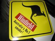 Kängaroo Schild original aus Australien