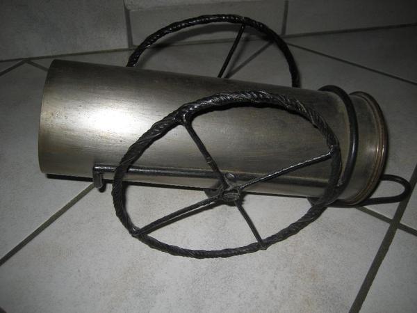 Kanonengeschoß Kanone für Flaschen Handarbeit