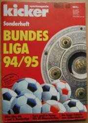 Kicker Sonderheft Bundesliga