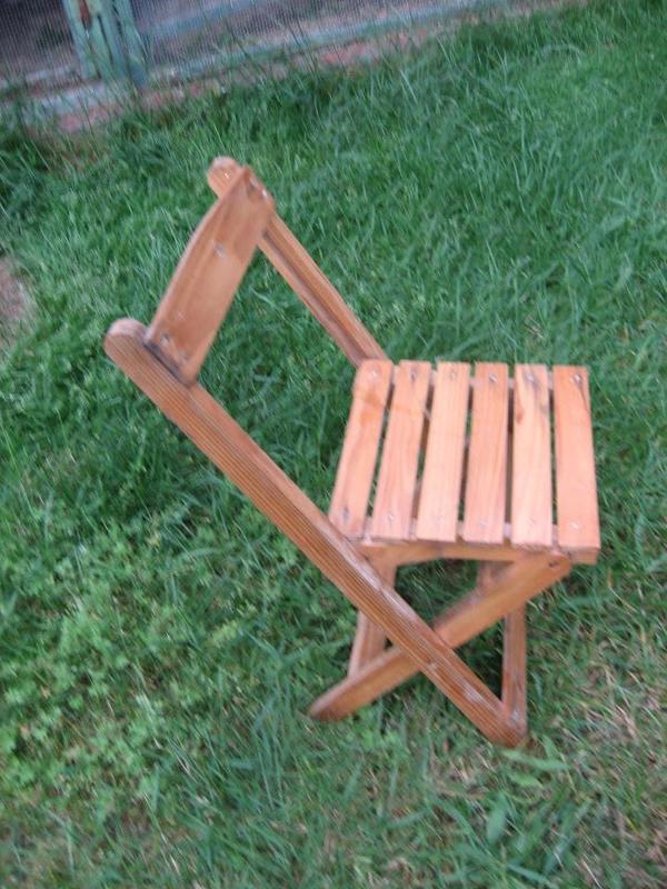 Kinderstuhl Aus Holz Klappstuhl Stuhl