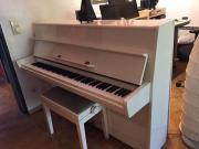 Klavier weiß -einmalige