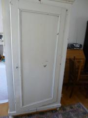 Kleiderwäscheschrank Weichholz antik