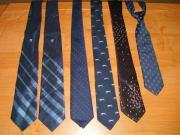 Krawatten (verschiedene Stoffe)
