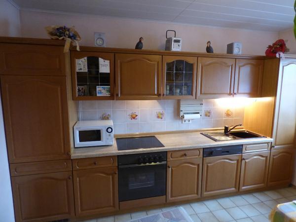 Küchenzeile Eiche hell in Worms - Küchenzeilen, Anbauküchen kaufen ...   {Küchenzeilen 57}