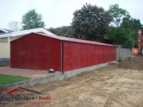 lagerhalle blechgarage lager landwirtschaft 6x12m mit statik in stadthagen garagen. Black Bedroom Furniture Sets. Home Design Ideas