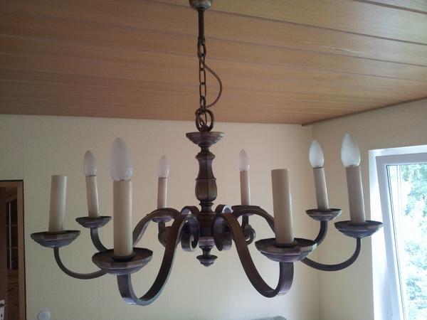 Kronleuchter Deckenleuchte Set : Lampe deckenleuchte kronleuchter o. kerzenbirnen für wohnzimmer in