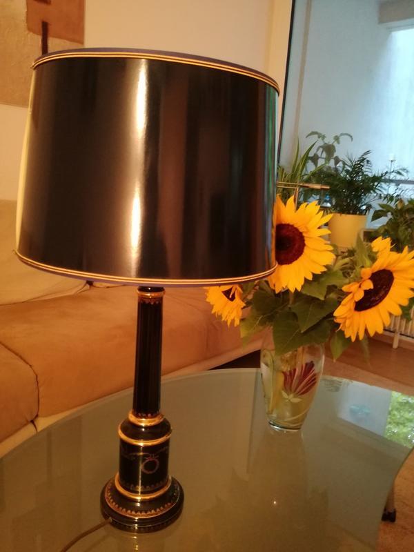 lampe schirm neu und gebraucht kaufen bei. Black Bedroom Furniture Sets. Home Design Ideas